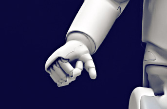 Machine learning-based hand of a robot